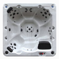 VT-86 7 person hot tub in Oakville top view